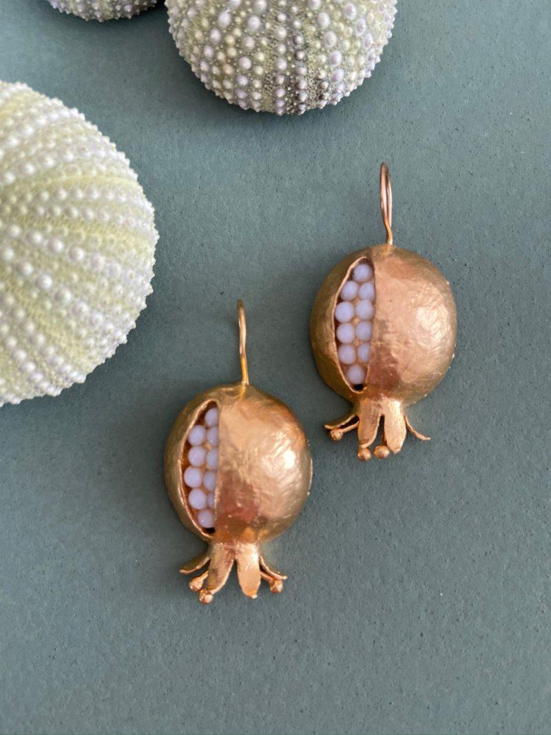 Boucles d'oreilles-Byzan-laiton-os-maroc-bijoux-marrakech-grenade-or