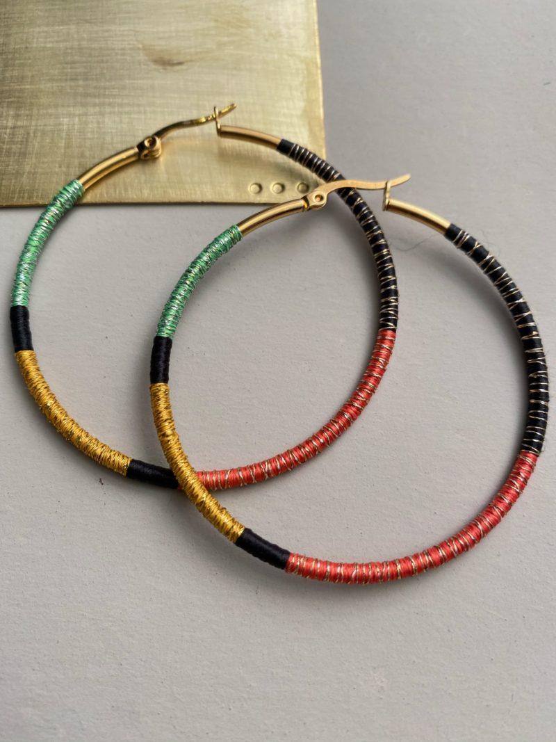 choufchouf-boucles d'oreille-créoles-maroc-laiton-faubourg des gazelles-Marrakech-bijoux-fils de couleurs
